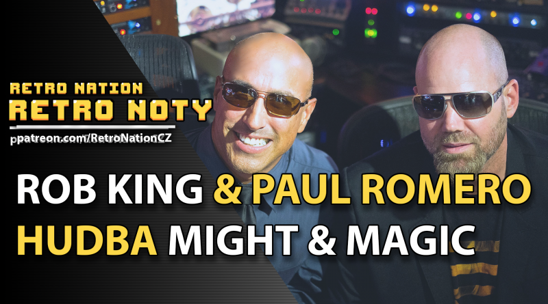 Retro noty 35: Bardi Might & Magic Paul Romero & Rob King