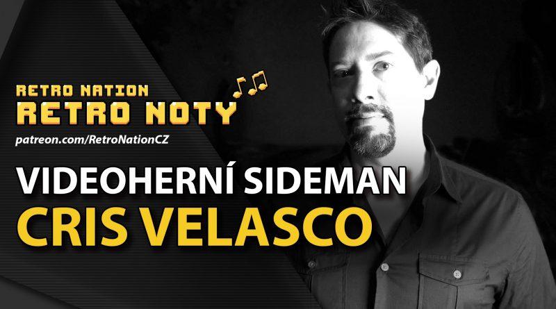 Retro noty 45: Videoherní sideman Cris Velasco