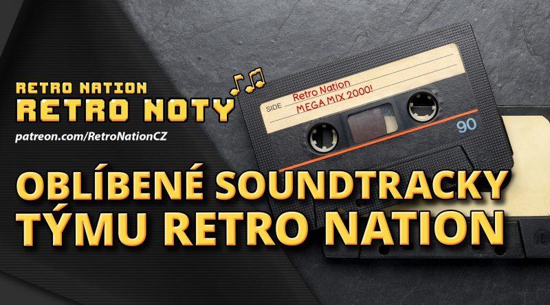Retro noty 50: Oblíbené soundtracky týmu Retro Nation
